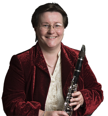 Lynne on Clarinet